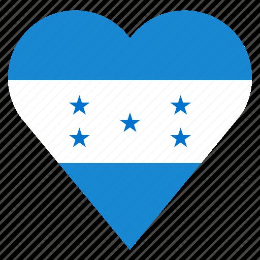 Honduras, pin, country, nation, flag, location, navigation icon