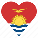 country, flag, kiribati, location, nation, navigation, pin icon