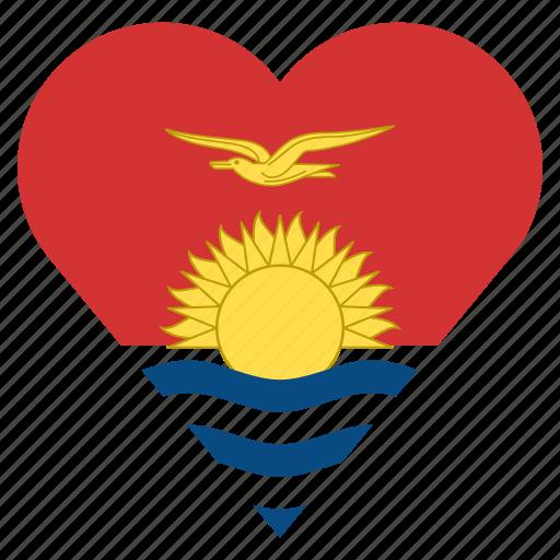 country, flag, kiribati, location, nation, navigation, pin icon