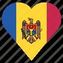 country, flag, location, moldova, nation, navigation, pin