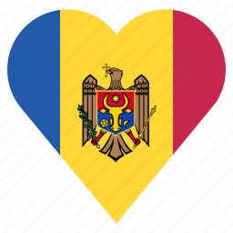 country, flag, location, moldova, nation, navigation, pin icon