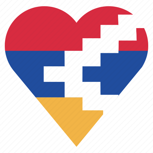 country, flag, location, nagorno karabakh, nation, navigation, pin icon