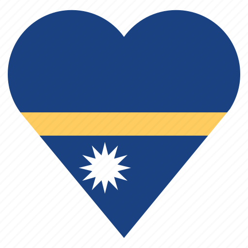 country, flag, location, nation, nauru, navigation, pin icon
