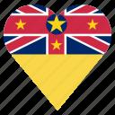 country, flag, location, nation, navigation, niue, pin