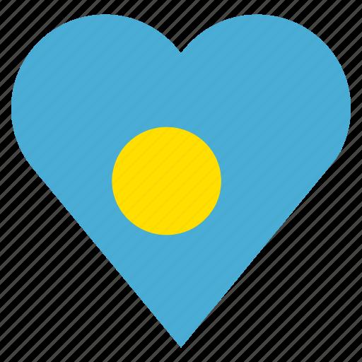 country, flag, location, nation, navigation, palau, pin icon