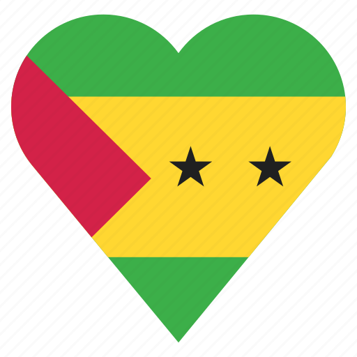 country, flag, location, nation, navigation, pin, sao tome and principe icon