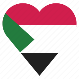 country, flag, location, nation, navigation, pin, sudan icon