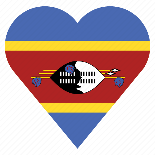 country, flag, location, nation, navigation, pin, swaziland icon