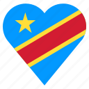 country, flag, location, nation, navigation, pin, the democratic republic of the congo