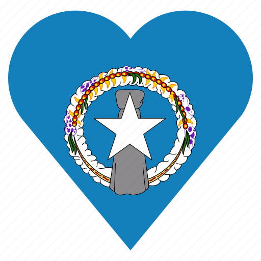 country, flag, location, nation, navigation, pin, the northern mariana islands icon