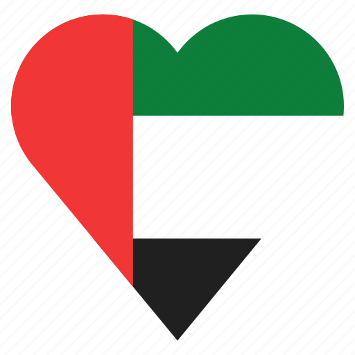 country, flag, location, nation, navigation, pin, the united arab emirates icon