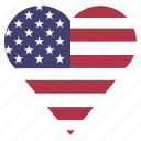 country, flag, location, nation, navigation, pin, the united states