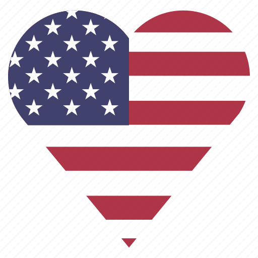 country, flag, location, nation, navigation, pin, the united states icon