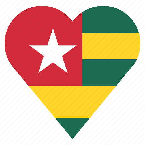 country, flag, location, nation, navigation, pin, togo icon