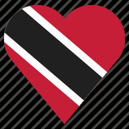 country, flag, location, nation, navigation, pin, trinidad and tobago icon