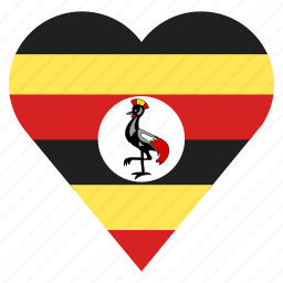 country, flag, location, nation, navigation, pin, uganda icon