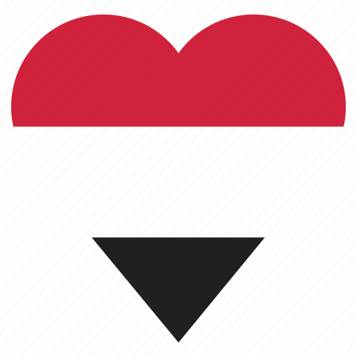 country, flag, location, nation, navigation, pin, yemen icon