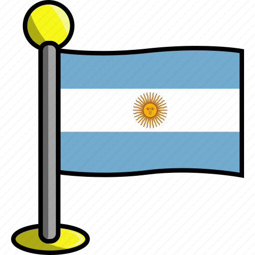 argentina, country, flag, flags icon