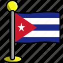 country, cuba, flag, flags