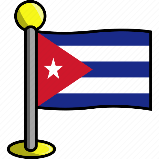 country, cuba, flag, flags icon