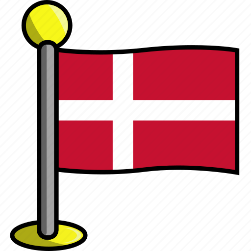 country, denmark, flag, flags icon