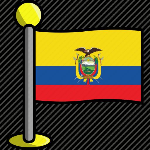 country, ecuador, flag, flags icon
