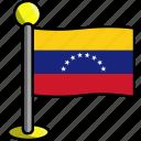 country, flag, flags, venezuela