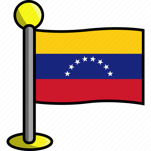 country, flag, flags, venezuela icon