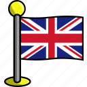 country, flag, flags, kingdom, united icon
