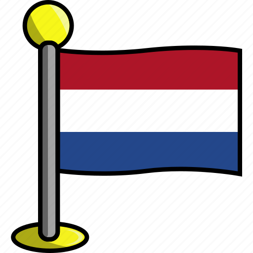 country, flag, flags, netherlands icon