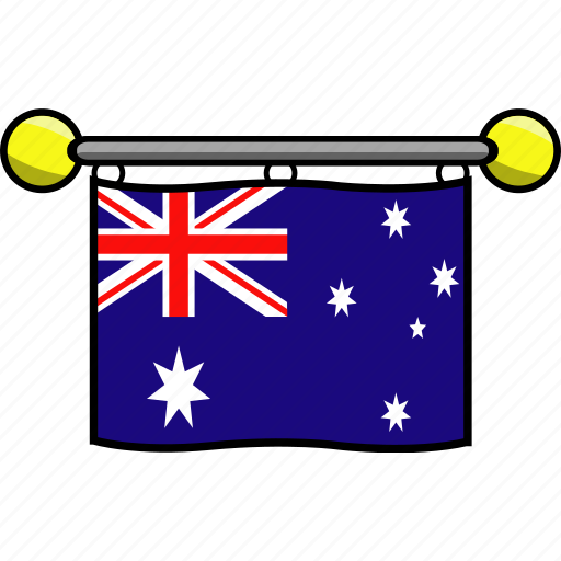 australia, country, flag, flags icon