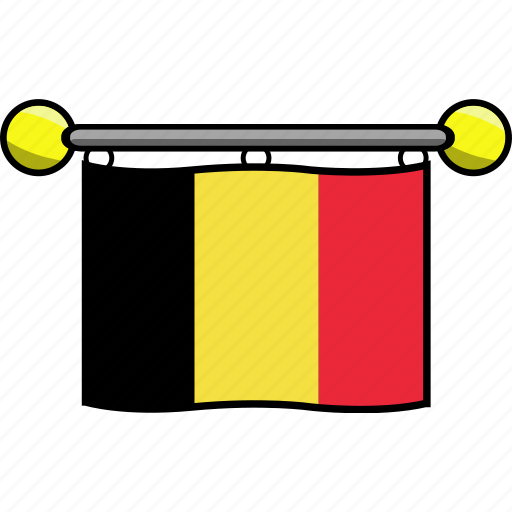 belgium, country, flag, flags icon
