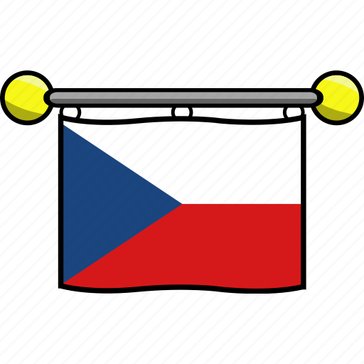 Country, czech, flag, flags, republic icon - Download on Iconfinder