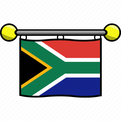 africa, country, flag, flags, south icon