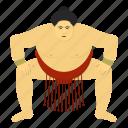athlete, japanese, sumo wrestler, tradition, wrestling icon