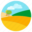 cool, desert, horizon, sunset icon