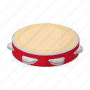 country, culture, sightseeing, spain, tambourine, timbrel, travel icon