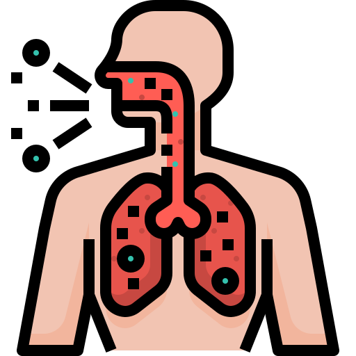 body, breathing, corona virus, coronavirus, covid19, difficulty, human icon