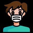 avatar, man, mask, sick, corona virus, coronavirus, covid19