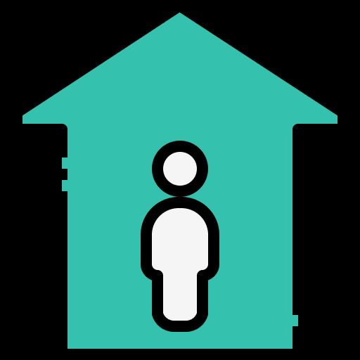 Building, estate, home, house, property, coronavirus, quarantine icon - Free download