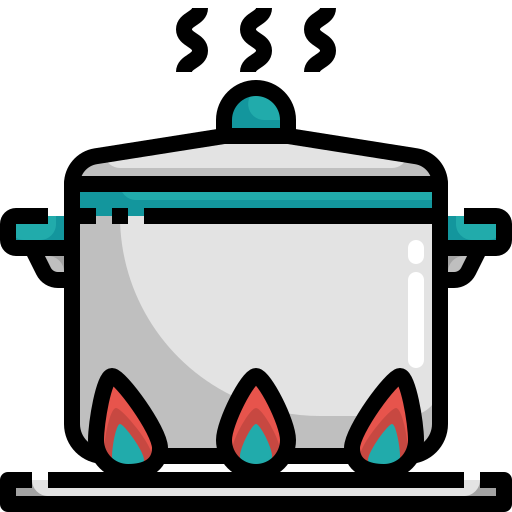 cooking, food, hot, kitchen, restaurant icon