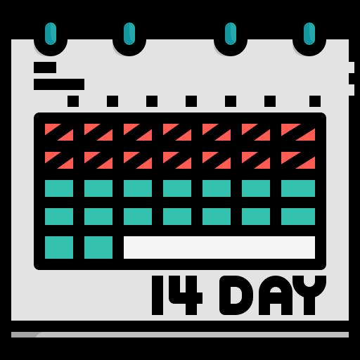 appointment, calendar, coronavirus, date, event, quarantine, schedule icon