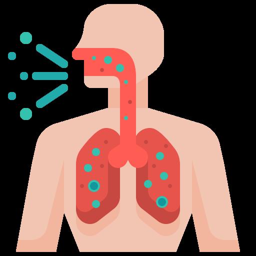 body, breathing, coronavirus, covid19, difficulty, human, medical icon