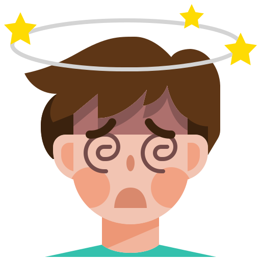 avatar, coronavirus, covid19, dizziness, man, sick icon