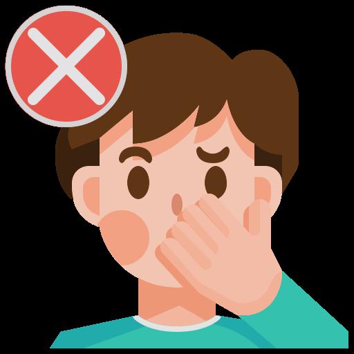 avatar, coronavirus, covid19, dont, face, man, touch icon