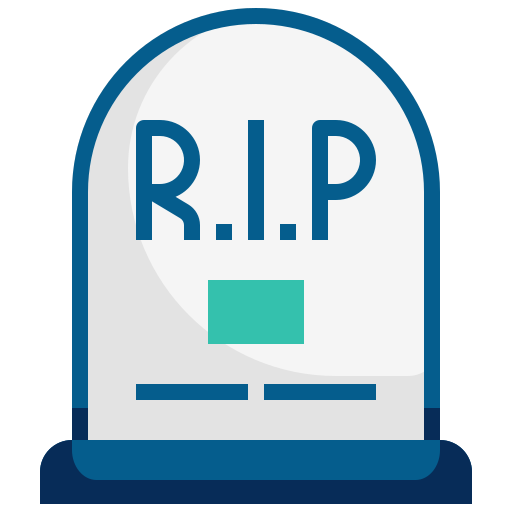 death, death rate, grave, halloween, mortality, rip icon