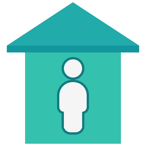 building, coronavirus, estate, home, house, property, quarantine icon