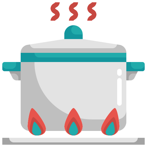 Cook, cooking, food, hot, kitchen icon - Free download