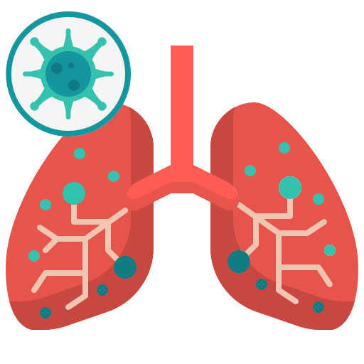 anatomy, coronavirus, covid19, lung, medical, organ icon