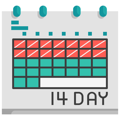 appointment, calendar, date, event, isolation, quarantine, schedule icon